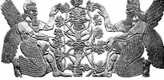 Deidades aladas sumerias