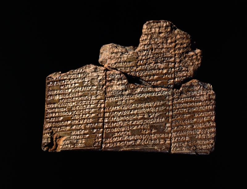 Tablilla de Nippur con el relato del diluvio - Penn Museum