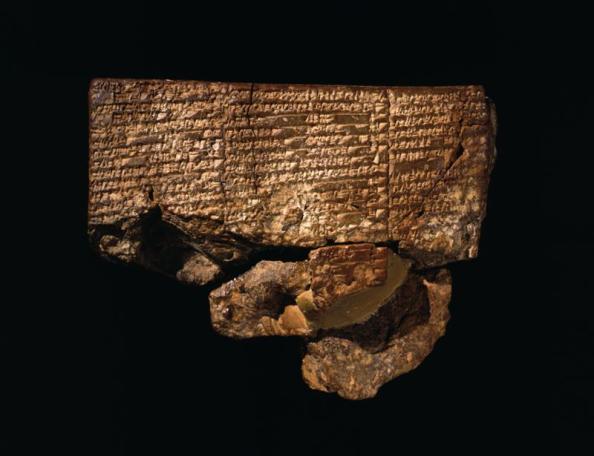 Tablilla de Nippur con el relato del diluvio
