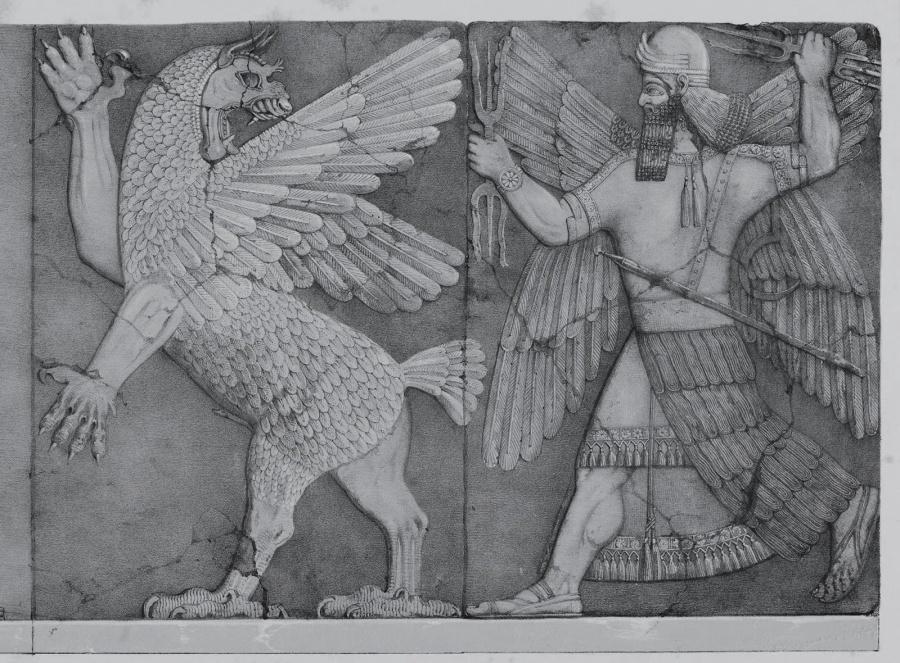 Lucha de Marduk contra Tiamat