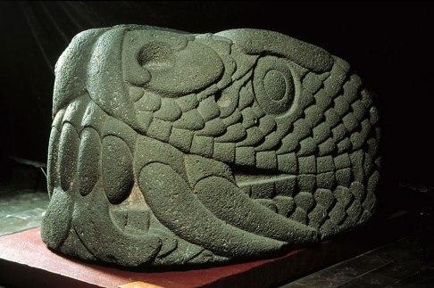 Cabeza de Serpiente, Museo de Antropología - México DF