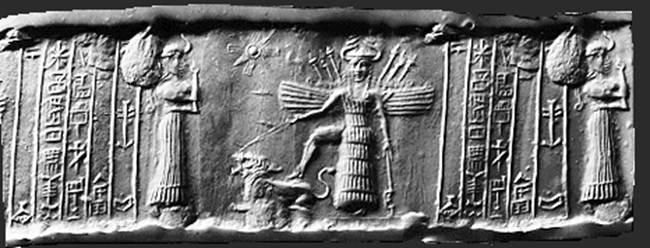 La diosa Inanna