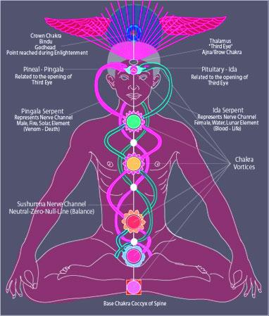 Kundalini - la energía ascendente