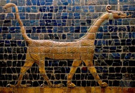 Mosaico en pared - Marduk
