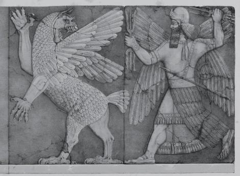 Marduk y Tiamat