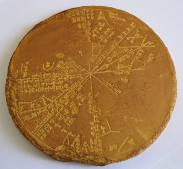 Mapa de estrellas sumerio