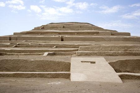 Cahuachi - Pirámide