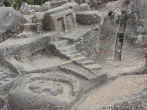 Piedra de Saywite - detalle
