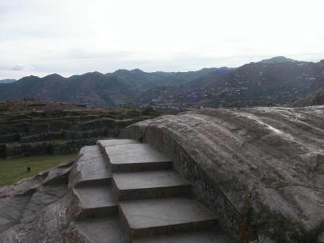 Sacsayhauman - escalones