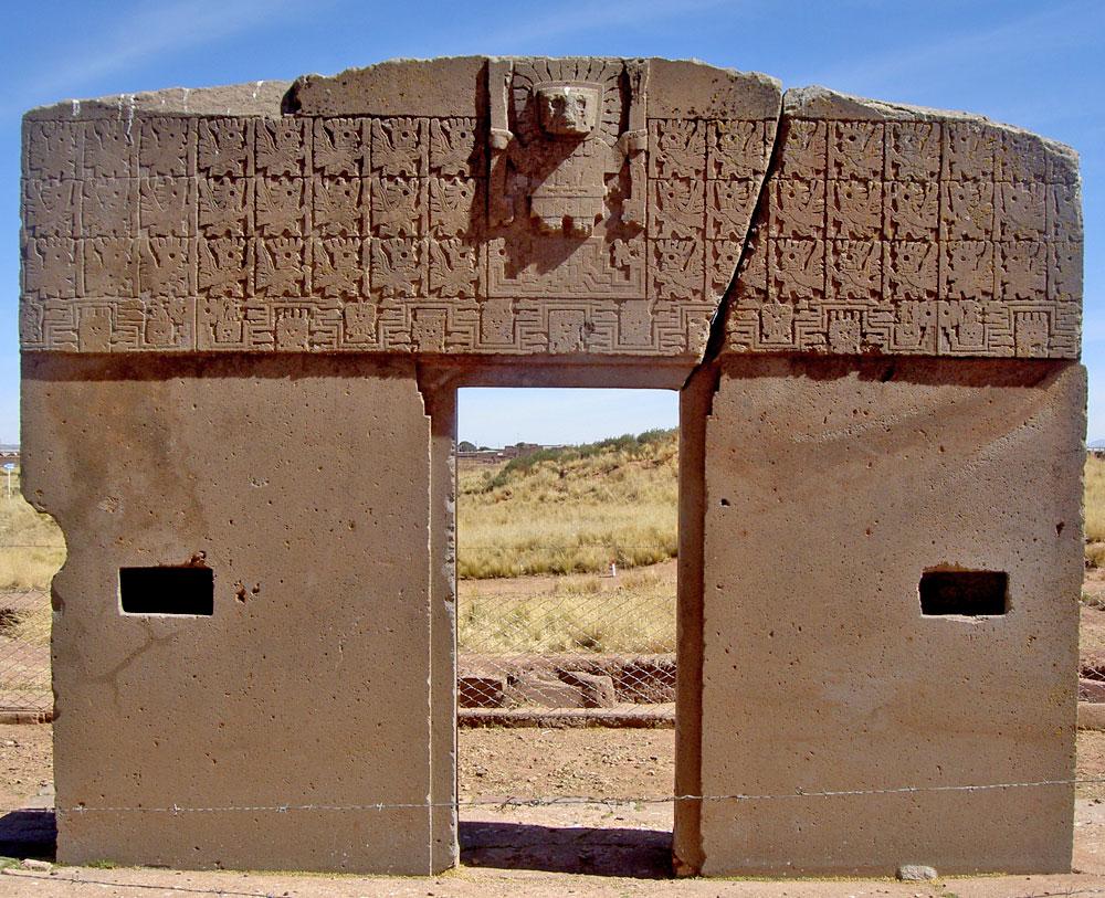 Tiwanaku y puma punku reydekish historias de la antig edad for Puerta de sol en directo