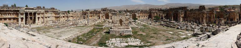 Baalbek panorámica