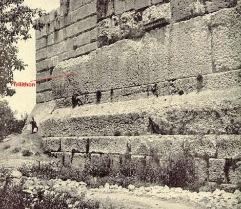 Cimientos Templo de Jupiter