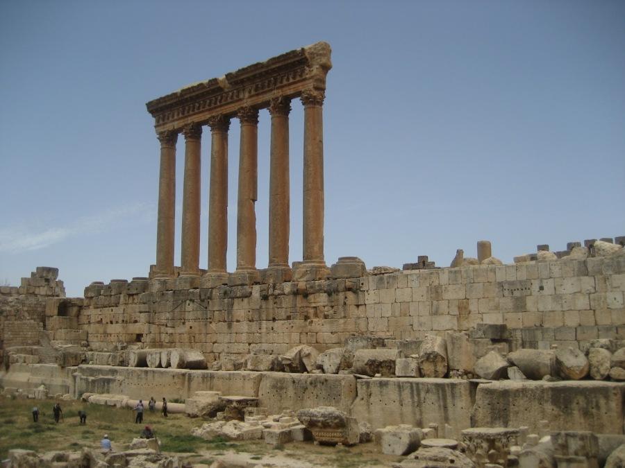 Columnas del templo de Júpiter