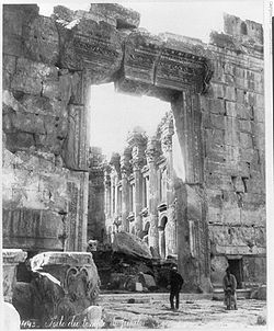 Entrada Templo de Baco
