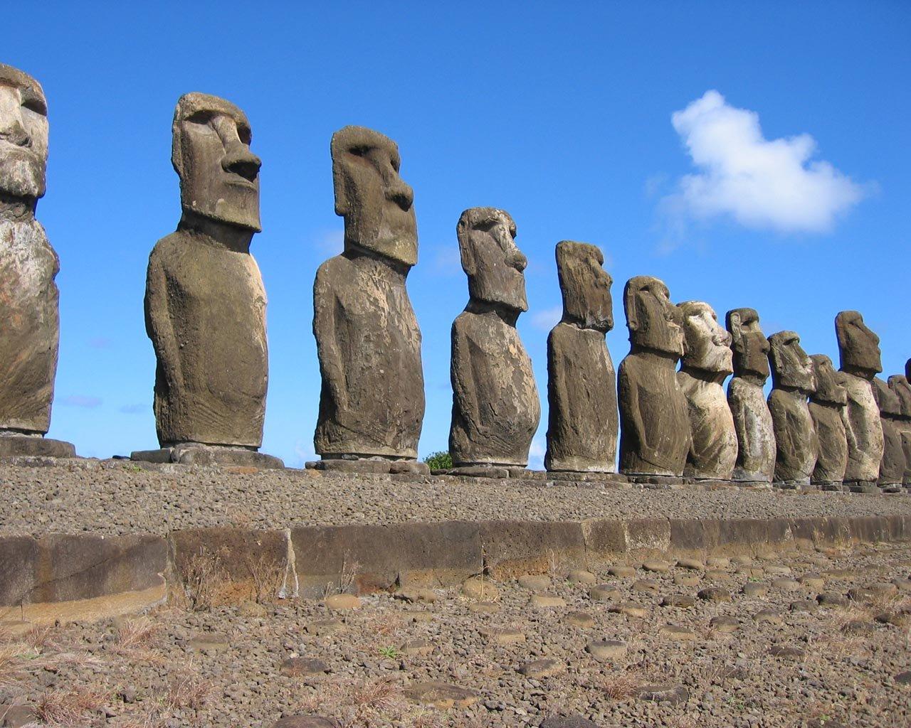 Rapa Nui  Isla de Pascua  ReydeKish  Historias de la Antigedad
