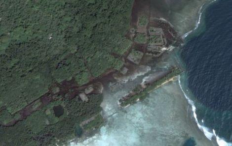 Nan Madol Vista Aérea