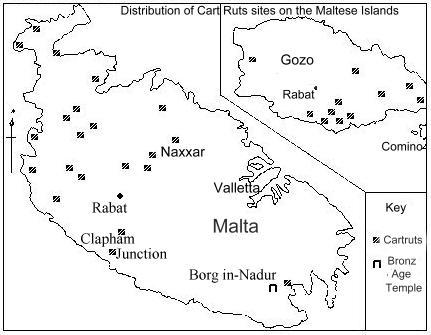 Cart Ruts Mapa