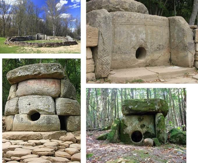collage 12 - DOLMENES, CROMLECH, TÚMULOS Y MENHIRES