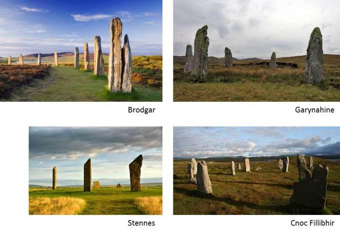 cromlech de escocia - DOLMENES, CROMLECH, TÚMULOS Y MENHIRES
