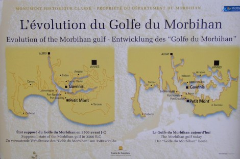 Gavrinis - Mapa