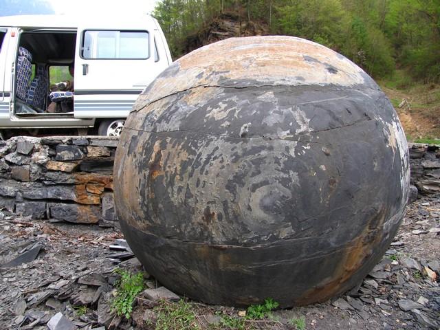 esferas de china - ESFERAS DE PIEDRA DE COSTA RICA Y RESTO DEL MUNDO