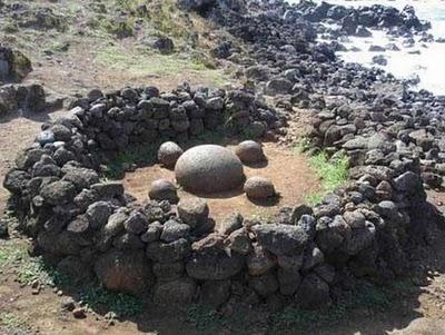esferas isla de pascua - ESFERAS DE PIEDRA DE COSTA RICA Y RESTO DEL MUNDO