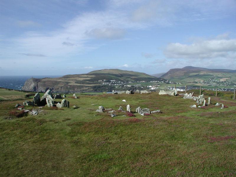 Mull Hill, en la isla de Man, Reino unido