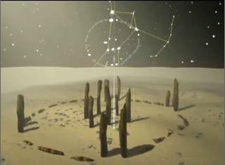 nabta playa nubia egipto3 - DOLMENES, CROMLECH, TÚMULOS Y MENHIRES