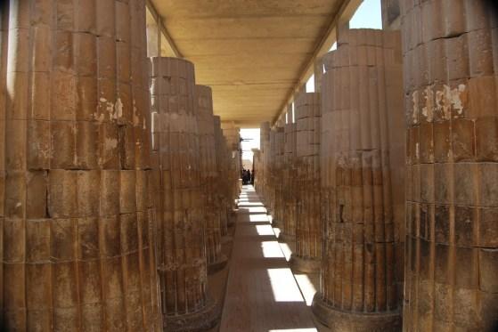 Columnas del complejo