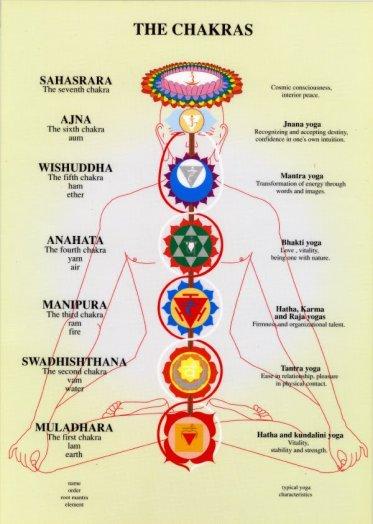Los 7 chakras