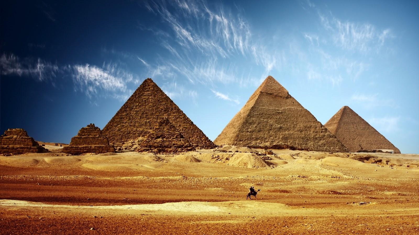La Gran Pirámide de Giza | ReydeKish - Historias de la Antigüedad