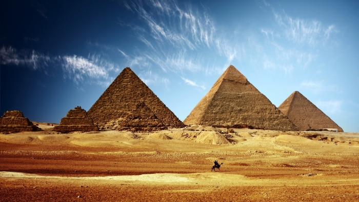 Pirámides de Giza (África)