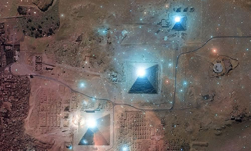 Correlación Orión-Pirámides