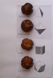 Esferas Talladas Solidos Platonicos