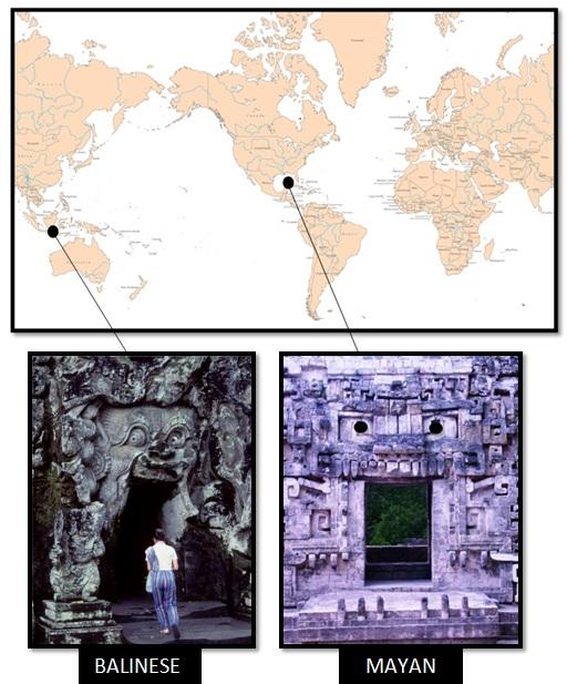 bali goa gajah temple pyramid of the magicians - Las Civilizaciones Paralelas