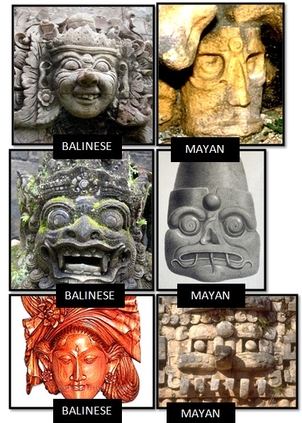 bali third eye mayan third eye - Las Civilizaciones Paralelas