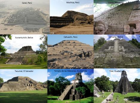 Pirámides de Centroamérica