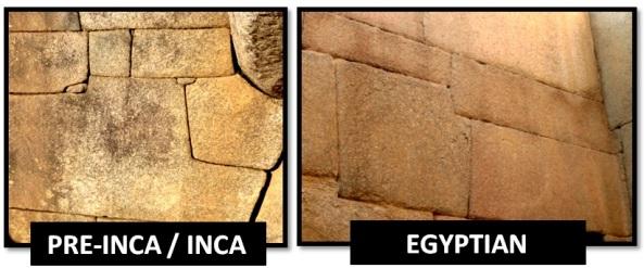 egyptian inca master craftsmen - Las Civilizaciones Paralelas