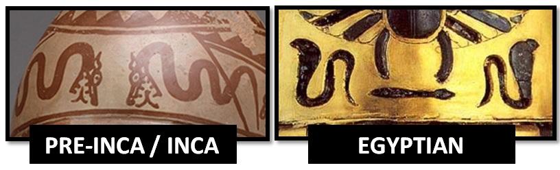 Egyptian-inca-symmetrical-serpents