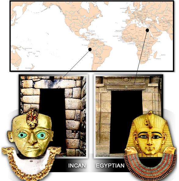 inca egypt - Las Civilizaciones Paralelas