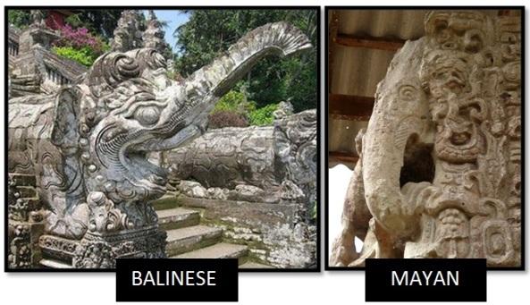 maya bali elephants old world new world elephants - Las Civilizaciones Paralelas