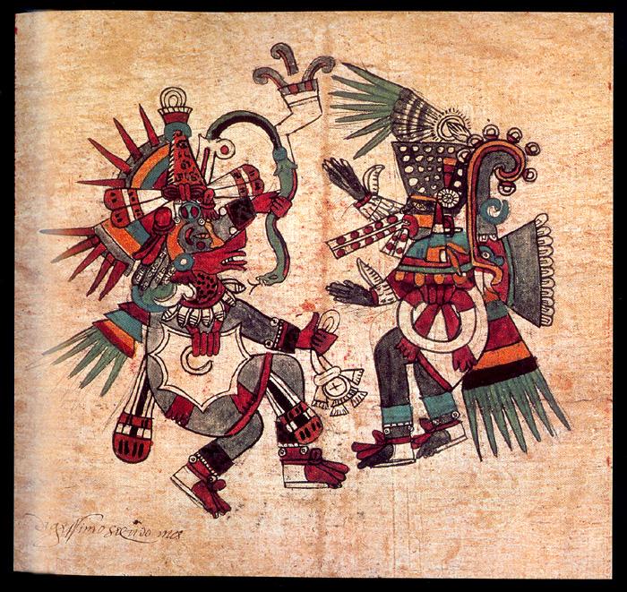Quetzalcóatl vs. Tezcatlipoca