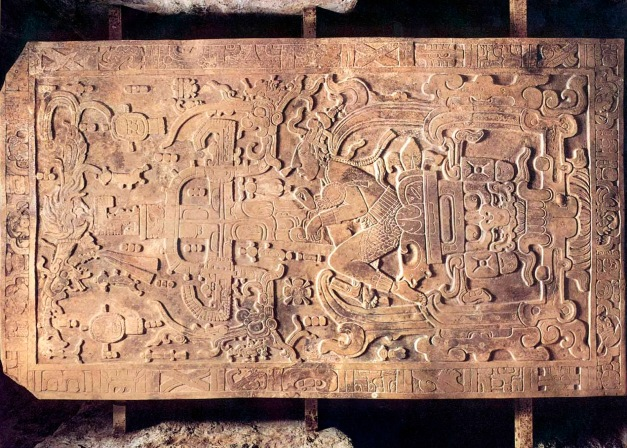 Tapa del Sarcófago de Pakal