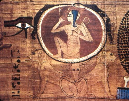 Papiro Dama Heroub Egypt, 21st Dynasty
