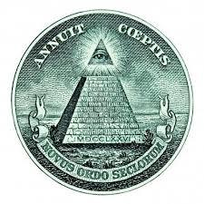 """Pirámide y """"Ojo que todo lo ve"""""""