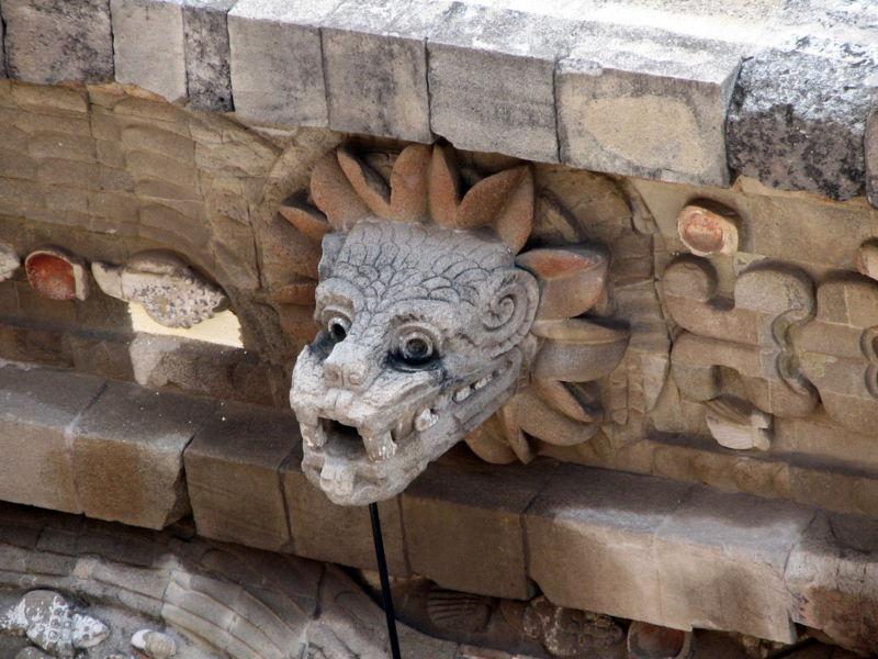 Quetzalcóatl en Teotihuacán
