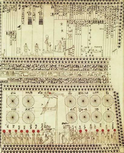 Detalle techo Tumba de Senenmut