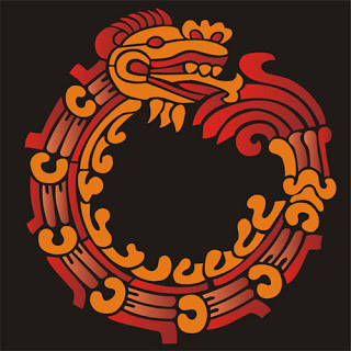 Uróboros simbología Azteca