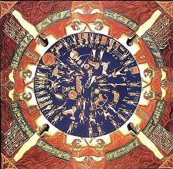 calendario zoodiacal egipcio - EL VATICANO Y LA SIMBOLOGÍA PAGANA