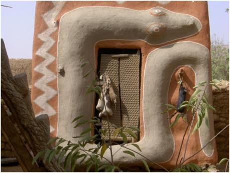 Casa de la tribu Dogon